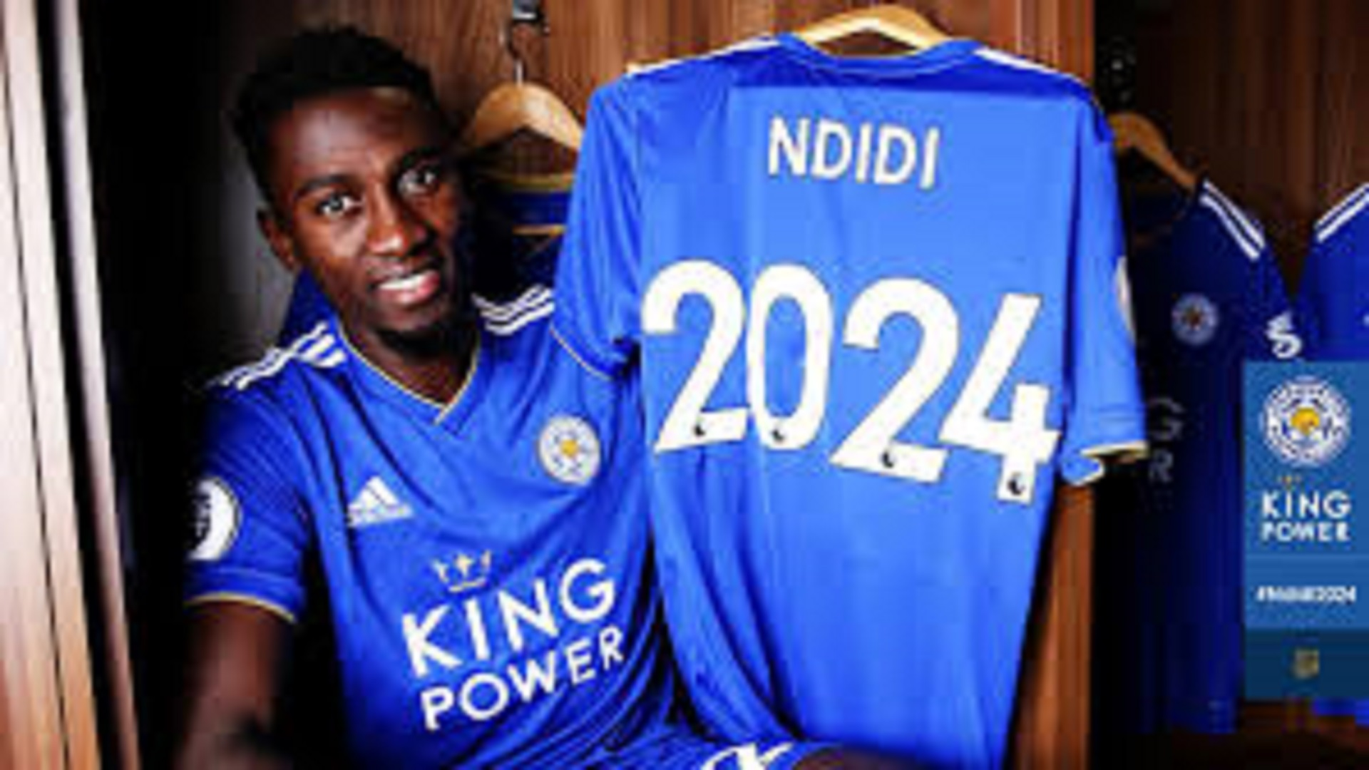 Ndidi signs until 2024
