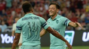 Ozil and Aubameyang