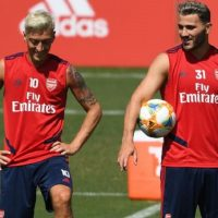 Two suspects charged over Ozil and Kolasinac incident